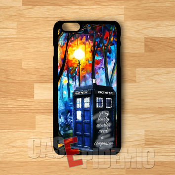 Sherlock Holmes Tardis Painting -stl for iPhone 6S case, iPhone 5s case, iPhone 6 case, iPhone 4S, Samsung S6 Edge