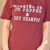 Running On Dr. Pepper Tee
