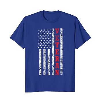 Veteran American Flag Shirt- Veteran's Day Patriot Gift