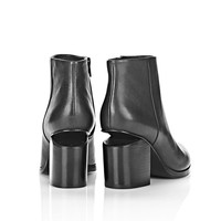 ‎‎Alexander Wang ‎GABI BOOTIE WITH ROSE GOLD ‎ ‎BOOTS‎ | Official Site