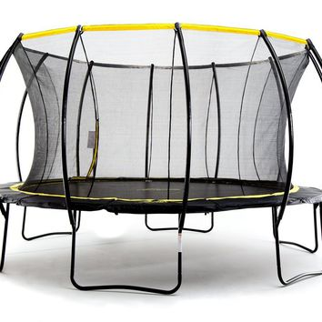Stratos 15ft Trampoline With Full Enclosure Net System