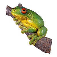 SheilaShrubs.com: Red-Eyed Tree Frog Statue NE20602 by Design Toscano: Garden Sculptures & Statues