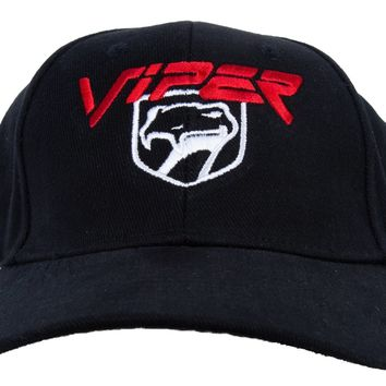 Dodge Viper Hat Two Tone Embroidered Cap