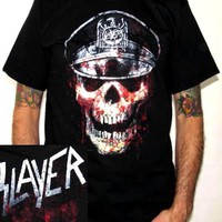 Slayer T-Shirt - Eagle Hat