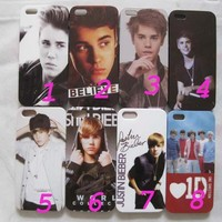 1 Popular Star Justin*Bieber Hard Back CASE COVER for iPhone 5 5G