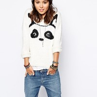 Only Animal Face Jumper at asos.com