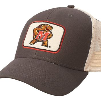 Maryland Tarrapins Farmers Mesh Adjustable Hat