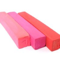 Hair Chalk - Full Size Sticks - Pink&Red Trio - Temporary Hair Color - Gifts Under 20 - Trendy Hair