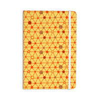 "Jane Smith ""Vintage Playground"" Yellow Red Everything Notebook"