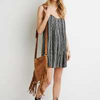 Ornate Stripe Cami Dress
