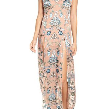 For Love & Lemons 'Saffron' Floral Print Maxi Dress | Nordstrom