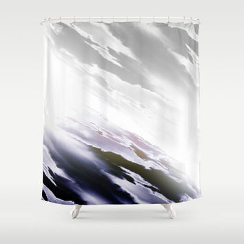 Fade off Shower Curtain by Kardiak | Society6
