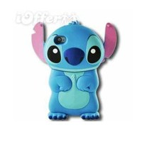 New 3d Blue Monster Cover Case For Iphone 4