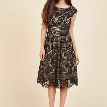 Sophisticated Specialty Lace Dress | Mod Retro Vintage Dresses | ModCloth.com