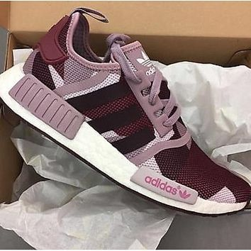 "Women ""Adidas"" Fashion Trending Purple Leisure Running Sports Shoes"