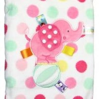 Taggies Baby Girl Elephant Decorative Blanket by Taggies