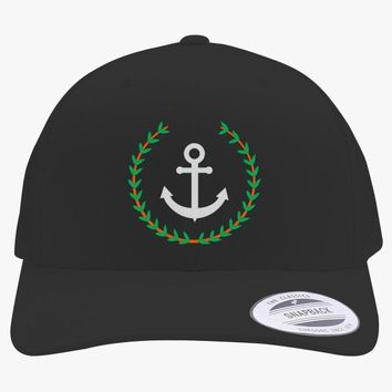 Pablo Escobar's Anchor Embroidered Retro Embroidered Trucker Hat