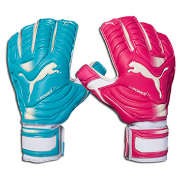 PUMA evoPOWER Grip 2 RC Tricks Glove - Beetroot Purple/Bluebird/White || SOCCER.COM