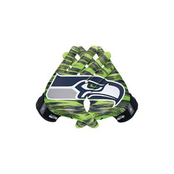 Nike Vapor Jet 3.0 On-Field (NFL Seahawks) Men's Football Gloves