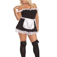 EM9395X Sexy Maid Costume - Elegant Moments