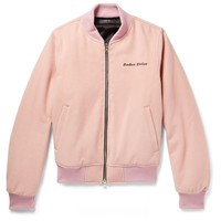 Pink Wool [Rodeo Drive] Bomber Jacket by Amiri