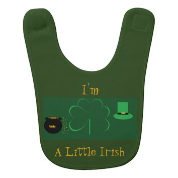 I'm a Little Irish Bib