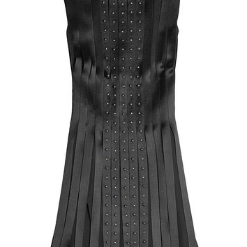 Embellished Silk Dress - Versace | WOMEN | KR STYLEBOP.COM