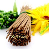 Soft Love Handmade Incense Sticks Egyptian Musk Fragrance Oil Aroma Therapy Stress Relief Gift for Her Gift for Him Home Fragrance Decor