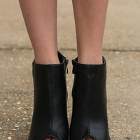 The Baxlee Bootie, Black