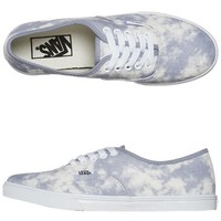 VANS AUTHENTIC LO PRO SHOE - LIGHT PURPLE ACID WASH