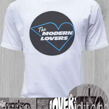 The Modern Lovers TShirt Tee Shirts Black and White For Men and Women Unisex Size