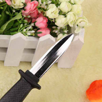 Trick Dagger Knife Retractable SLIDE IN Blade Fun Joke Prank Halloween Prop Fake walkie talkie kids Anyoutdoor
