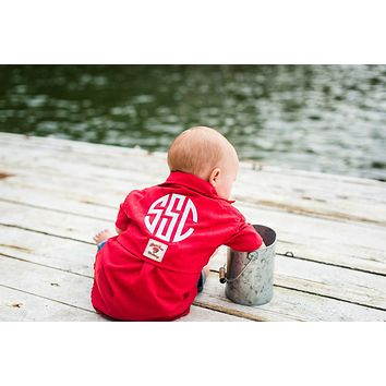 Baby/Kids Monogrammed Fishing Shirt