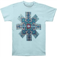 Red Hot Chili Peppers Men's  Kaleidoscope T-shirt Blue