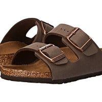Birkenstock Kids Arizona (Toddler/Little Kid/Big Kid) Mocha Birkibuc - Zappos.com Free Shipping BOTH Ways