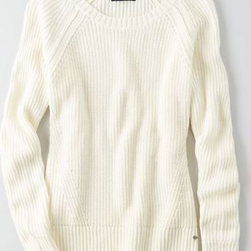 AEO Women's Solid Pullover Sweater