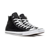 Converse Shoes Chuck Taylor Hi Leather in Black