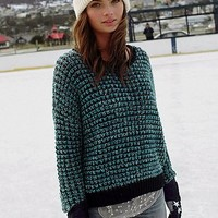 Ecote Stardust Open-Stitch Sweater - Urban Outfitters