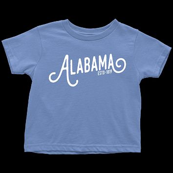 Alabama Script Toddler T-Shirt