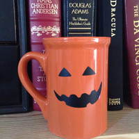 jack o lantern coffee mug pumpkin coffee cup Halloween mug