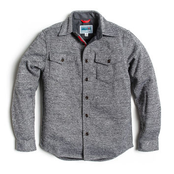 North Coast Shirt Jacket - Heather Gray
