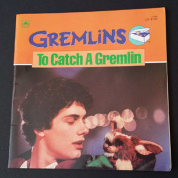 Vintage Gremlins To Catch a Gremlin Golden Book 1984 Great Comic Book Style Graphics