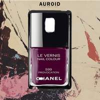 Chanel Nail Polish Provocation Samsung Galaxy Note 5 Edge Case Auroid