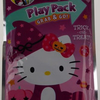 Hello Kitty Play Pack Grab & Go Set 12 Coloring Books Crayons Stickers Halloween