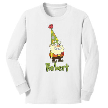 Disney 7D Happy personalized long sleeve T shirts