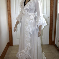 Christine Daae Victorian Dressing Gown - DELUXE - Made to Order to Your Size