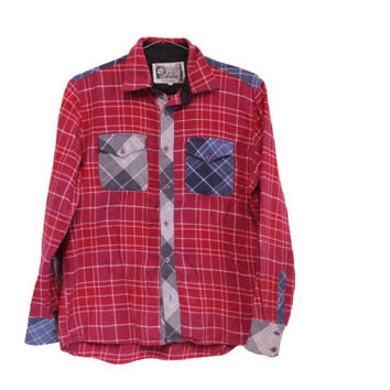 Vintage Patchwork Flannel - Penfield Trailwear -  Western Flannel