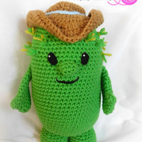 Sheriff Callie Inspired Toby the Cactus; CROCHET PATTERN; PDF