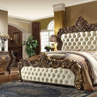 4 Piece Traditional HD-8011 Bedroom Set (King Size Only)