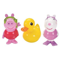 Peppa Pig, Suzy Sheep and Ducky Bath Squirters